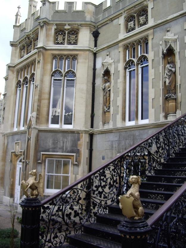 Strawberry Hill House, rear view