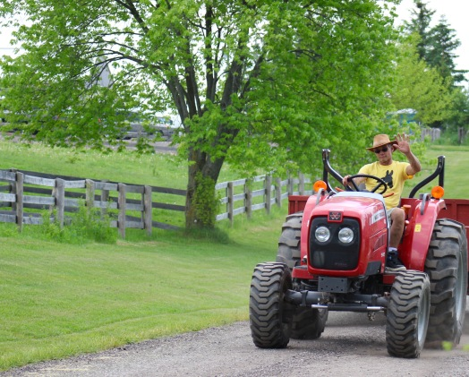 Friendly Tractor Driver